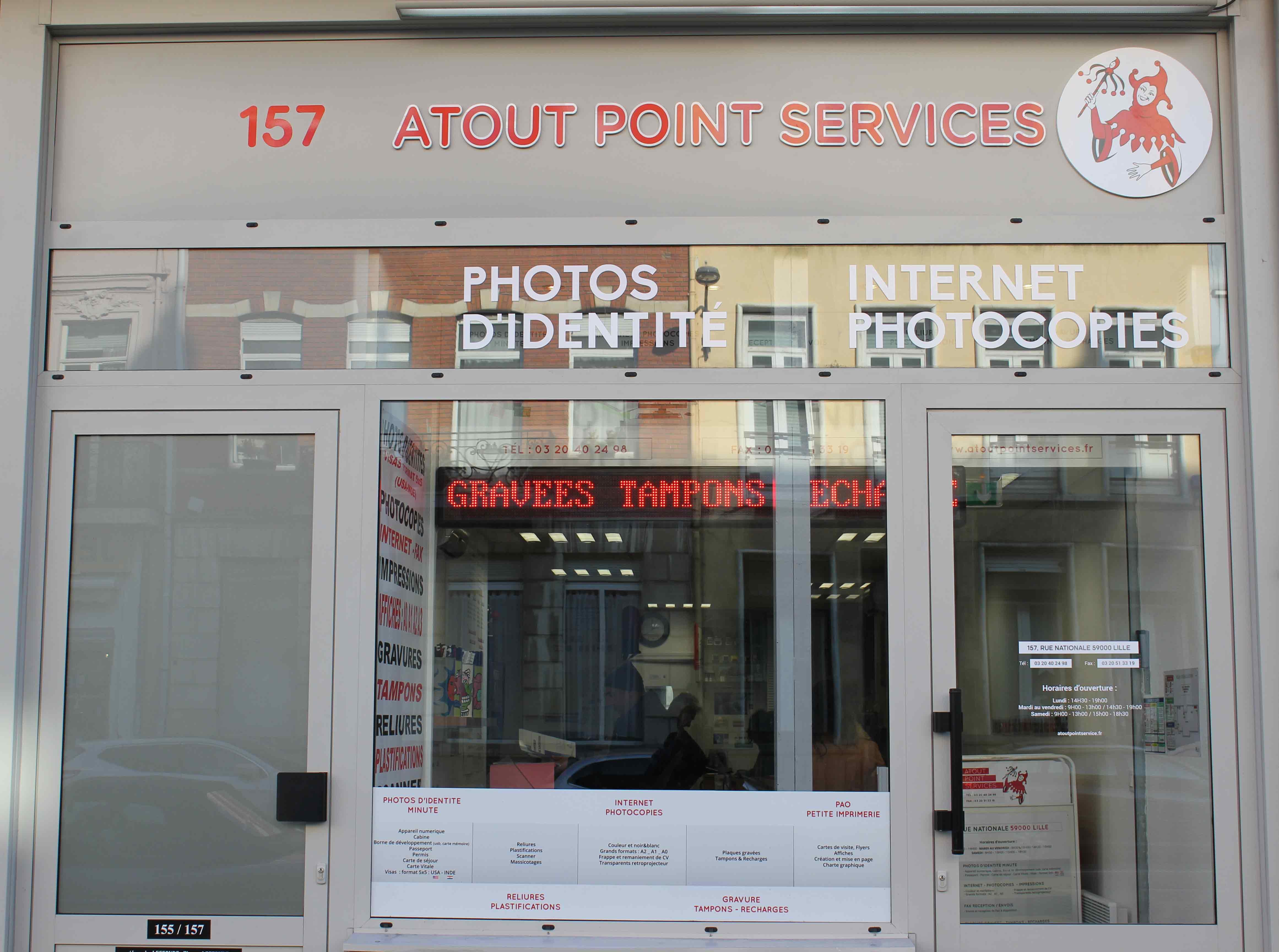 Magasin à Lille de photocopies, impressions, photos d'identité et internet